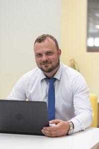 Tomáš Frimmel. Bussines Unit Manager pro periferie a networking v eD system