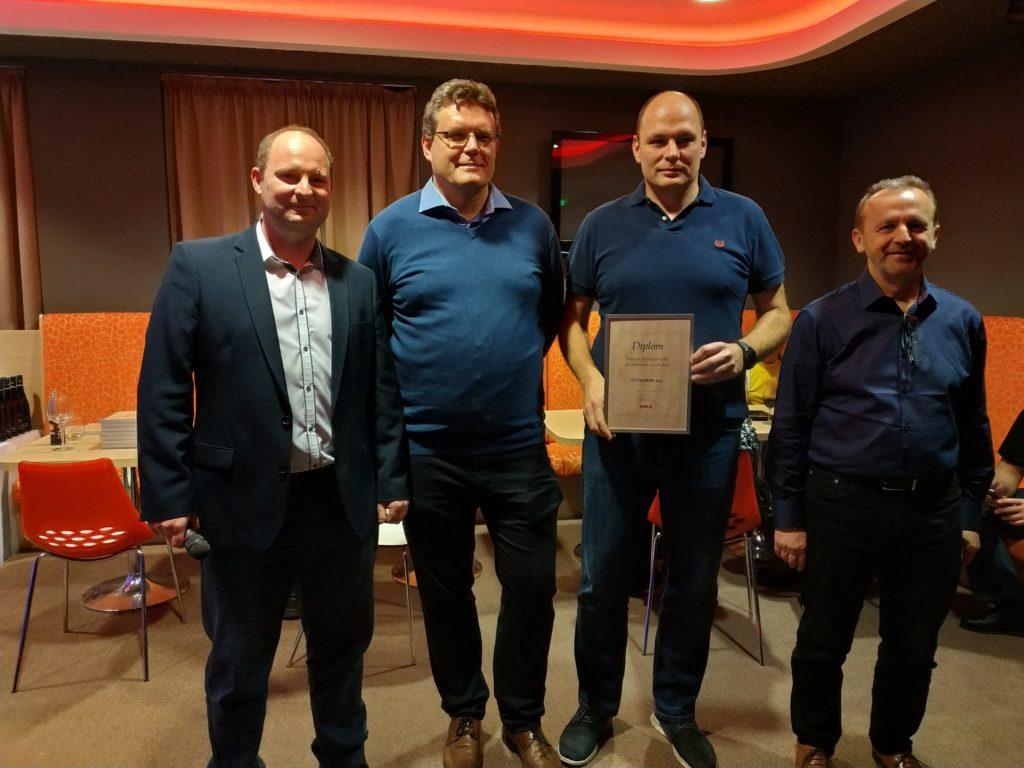 Nejlepším distributorem OKI na Slovensku za rok 2018 je eD system.