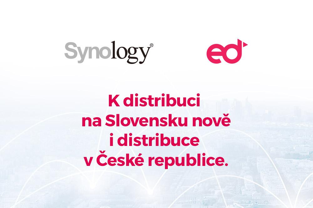 eD system je oficiálním distributorem Synology
